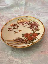Vintage Soho china Satsuma Hand Painted Ashtray image 4