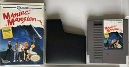 ☆ Maniac Mansion (Nintendo System 1990) AUTHENTIC NES Game Cart Sleeve &... - $44.99