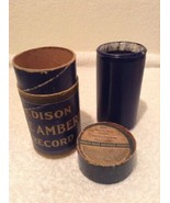 Antique Edison BLUE AMBEROL Cylinder Record With Box #1817 She's My Dais... - $32.97