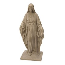 Emsco Group Virgin Mary Statue - Natural Sandstone Appearance - Made of ... - $81.91