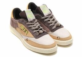 REEBOK BS7496 Club C 85 Halloween Voodoo Sneakers Shoes Skull Sand Stone... - $73.75