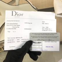 NEW AUTH Christian Dior 2019 White Medium Saddle Trotter Saddle Shoulder Bag image 9