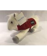 "Wells Fargo 2011 Snowflake Legendary Pony Plush Horse White 16"" NWT - $7.99"