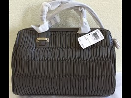 Coach Madison Taylor Satchel in Gathered Leather F25250 Silver/Gray New ... - $344.52