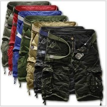 Casual Cargo Combat Camouflage Sports Pants Men Shorts - $20.04