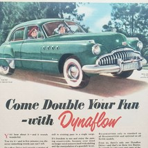1940's Buick Dynaflow Print Ad  - $15.75