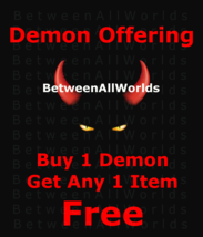 Big Sale Free Freebie Buy One Demon Get Any 1 Booth Spell Or Spirit Free  - $0.00
