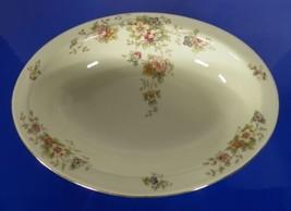 Heinrich & Co Bavaria Selb Oval Vegetable Bowl SENTA Pattern 10816 Floral - $34.60