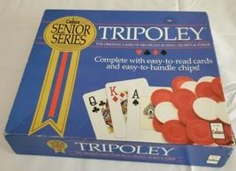 Tripoley Cadaco Senior Series Vintage 1989 Michigan Rummy Hearts Poker C... - $34.60