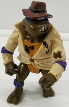 N) 1990 Teenage Mutant Ninja Turtles Undercover Donatello Playmates Toys... - $9.89