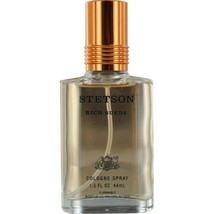 RARE Stetson Rich Suede Cologne Spray 1.5oz. Men's Fragrance Coty New Bo... - $29.09