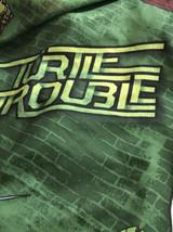 Nickelodeon Teenage Mutant Ninja Turtle Trouble Twin Flat Sheet Green - $11.88