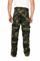Men's Tactical Combat Military Army Work Twill Cargo Pants Trousers image 11