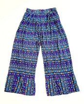 Bollydoll Women's Colorful Lounge Pants Soft Comfy Rayon Elephant Print ... - $17.62