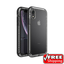 NEW Genuine Lifeproof NEXT Case iPhone XR 6.1'' ONLY Black Crystal Rugge... - $37.39