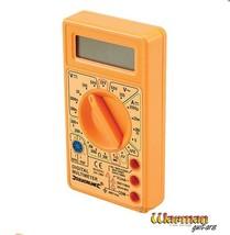 Digital Multimeter for test and repairs on electric guitars, basses, amp... - $10.14