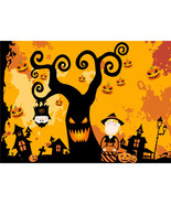 Halloween Tree Wall Sticker Mural DIY Removable Kids Decoration 40AT15 - $12.99