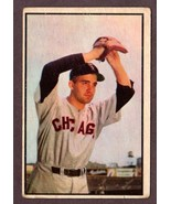 1953 BOWMAN COLOR #73 BILLY PIERCE BASEBALL CARD-CHICAGO WHITE SOX - $12.82