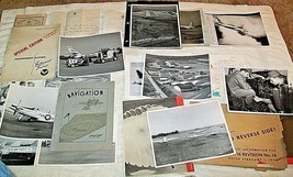 20 MIXED  WWII Letters & Later  Photos , PILOT INFORMATION BOOKLETS  , U... - $20.00