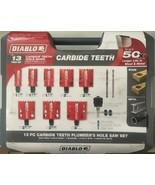 Diablo DHS13SPLCT 13pc. Carbide Tipped Hole Saw Set - $118.80