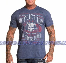 AFFLICTION Chris Kyle Special Ops A18986 Short Sleeve Fashion Graphic T-... - $44.22