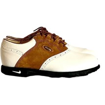 Vintage Nike Zoom Air Unisex Y3 PGA Golf Shoes Leather Golf Shoes Size 6 - $49.49