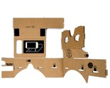 DIY 3D Google Cardboard Virtual Reality Glasses with NFC for 4-5.5 Inch Mobile P