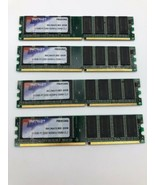 Patriot Memory 2GB (4 X 512MB) PC-3200 DDR1 400MHZ ECC CL3 PSD512400 - $14.07