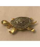 vintage turtle pin - $6.93