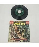 Vintage Walt Disney Swamp Fox Leslie Nielsen 78 Vinyl Record DBR-39 6 So... - $29.95