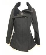 Lululemon Womens 4 Audrey Black Tweed Softshell Jacket Coat - $215.60