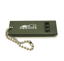 Outdoor First Aid Survival Emergency Whistle For Camping - $24.76
