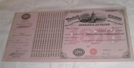 Antique Revenue Certificate / Stamp 1876 Malt Liquors Beer / Vignette & ... - $50.00