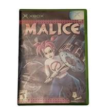 Microsoft Xbox Malice Video Game (Complete, 2004) - $14.50