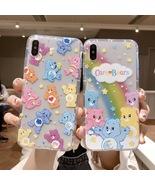 Cute Transparent Care Bear Cartoon iPhone Case  XR X XS Max 6 6S 7 8 Plu... - $3.99