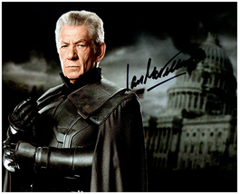 IAN MCKELLEN Original Signed Autographed Photo w/ Certificate of Authenticity 44 - $65.00