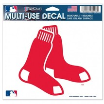 Boston Red Sox Decal 5x6 Ultra Color**Free Shipping** - $12.45