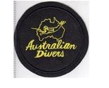France australian divers la spirotechnique 1968 yellow on black felt 12.99 4.25 in thumb155 crop