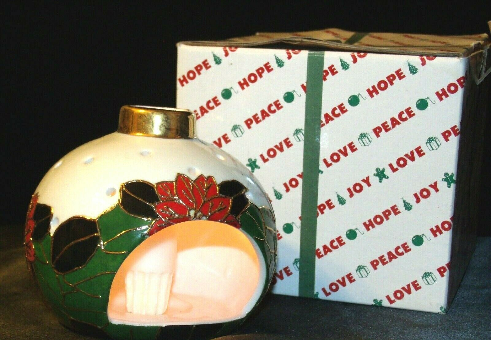 House of Lloyd Christmas Ornament Love Peace Hope AA-191796 Collectible