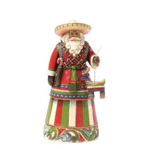 "Jim Shore Mexican Santa Around the World Collection 7"" High Christmas Figure"