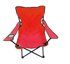 TkUniware Beach Folding Chair with Extra Carrying Bag Red/Navy Blue/Blac... - $39.60