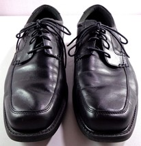 Rockport Walkability Oxfords Mens Black Leather Lace Up Shoes Size 11.5 W - $74.20