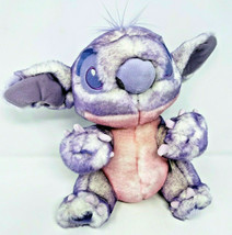 Rare Disney Store Exclusive Purple Pink Tip Tie Dye Stitch Plush Toy - $39.99