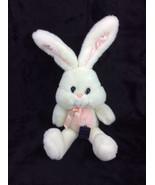 "MoonBeam Toys Bunny Rabbit Pink White Plush 19"" Stuffed Animal VTG NEW - $86.96"