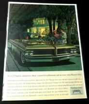 1962 Pontiac Bonneville Print Ad Palm Trees General Motors - $12.99