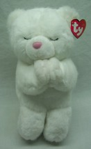 "TY Classic BLESSINGS THE WHITE PRAYING TEDDY BEAR 10"" Plush STUFFED ANIM... - $19.80"