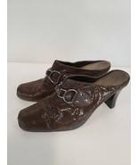 Aerosoles Womens Pumps Size US 6 Brown Slip On Open Back Heels Comfort S... - $39.99