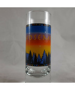 Yosemite Shot Glasses Mountains Trees Sunset - $4.94