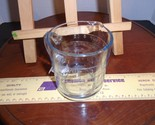 Vintage Fire-King Blue Glass 8 Oz. Measuring Cup Sapphire