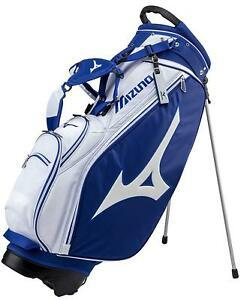 Primary image for F/S MIZUNO Caddy Bag Tour Series Caddy Bag Stand 5LJC172300 White Navy WM japan